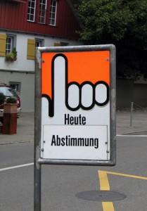 "Bild: ""Heute Abstimmung"" (BernieCB, flickr, CC BY-ND 2.0)"