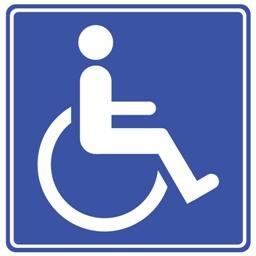 Bild: Rollstuhlpiktogramm (Petr Kratochvil, gemeinfrei)