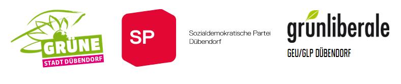 Logo Grüne, SP & GEU
