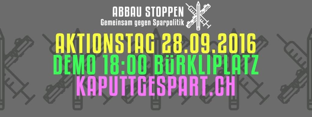 Kantonaler Aktionstag