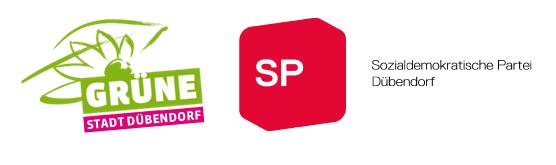 Logo Grüne & SP Dübendorf